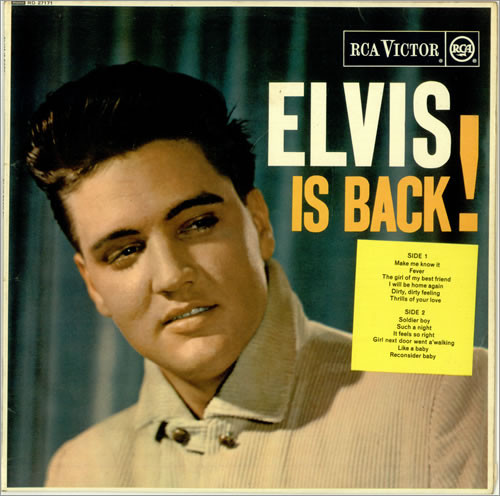 Presley, Elvis Elvis Is Back! Vinyl