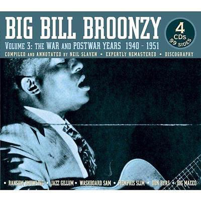 Big Bill Broonzy Volume 3: The War and Postward Years 1940-1951