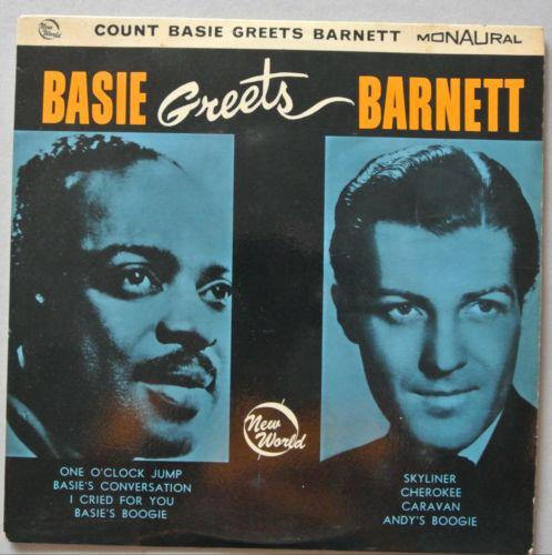 Count Basie, Charlie Barnett Basie Greets Barnett