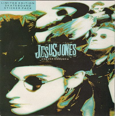 Jesus Jones Never Enough Vinyl