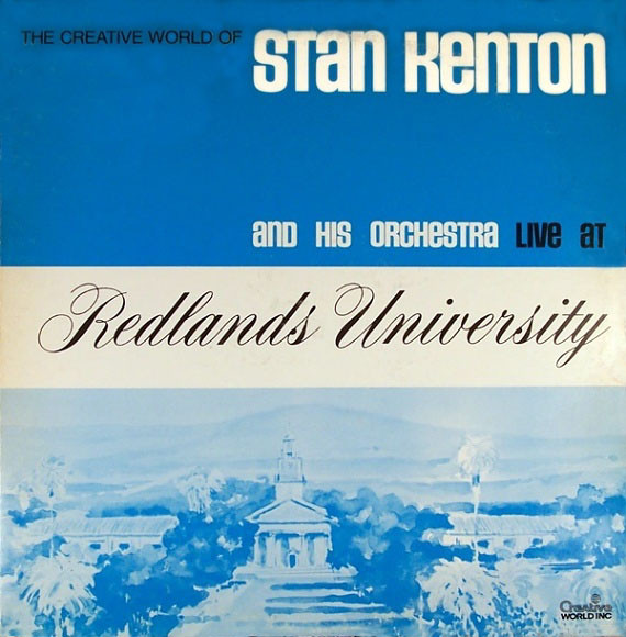 Kenton, Stan Live At Redlands University