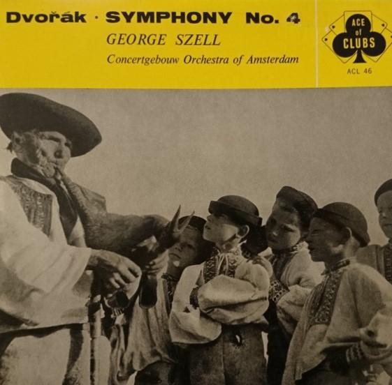 Dvorak - George Szell Symphony No. 4 Vinyl
