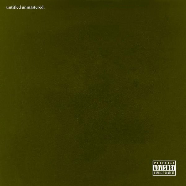 Kendrick Lamar Untitled Unmastered Vinyl