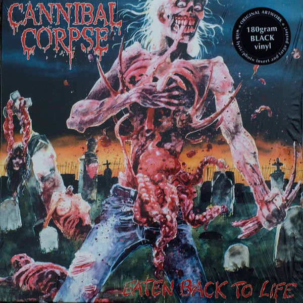 Cannibal Corpse Eaten Back To Life Vinyl