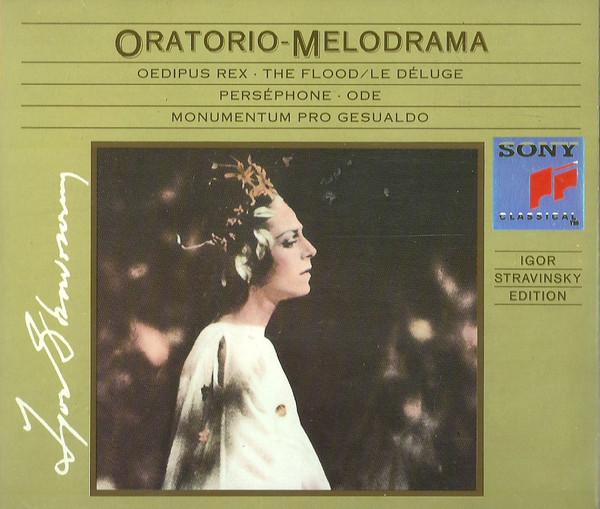Stravinsky, Igor Edition: Oratorio - Melodrama - Vol. X