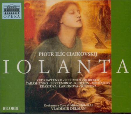 Tchaikovsky/Ciaikovskij, Orchestra E Coro Di Milano Della RAI, Vladimir Delman Iolanta