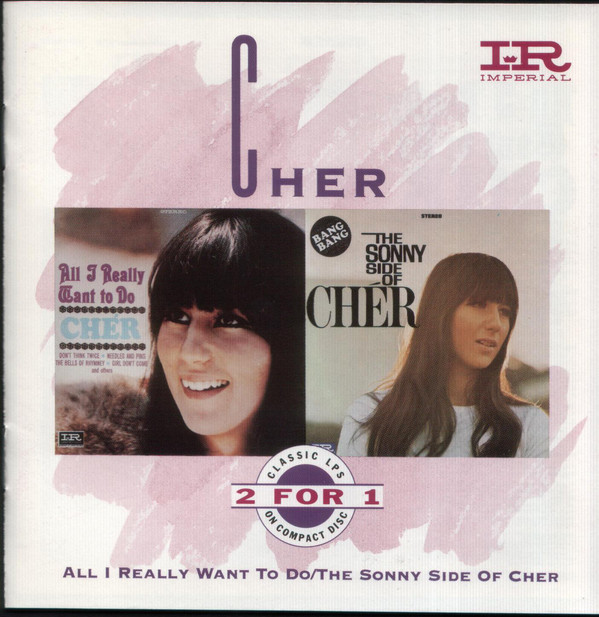 Cher All I Really Want To Do / The Sonny Side Of Cher Vinyl