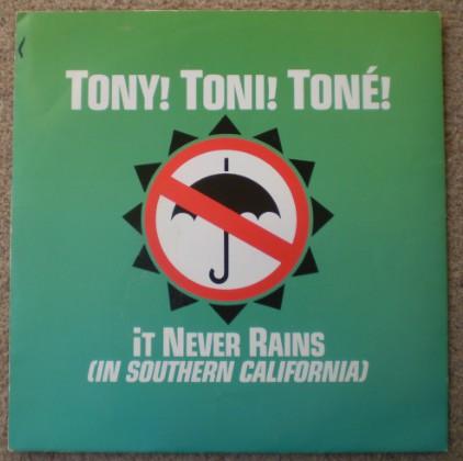 Tony! Toni! Toné! It Never Rains (In Southern California) Vinyl
