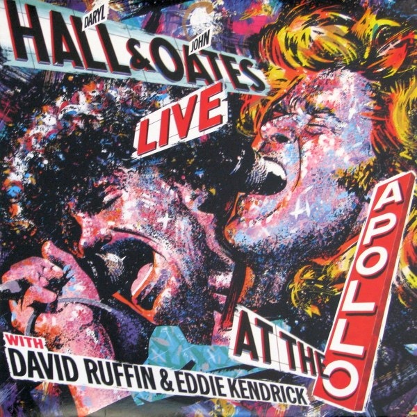 Hall Daryl & John Oates Live At The Apollo With David Ruffin & Eddie Kendrick Vinyl