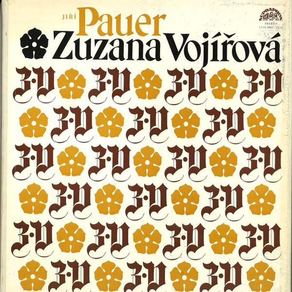 Pauer, Jiri Zuzana Vojirova Vinyl