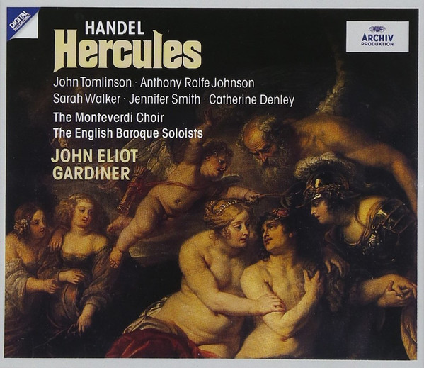 Handel - The Monteverdi Choir, The English Baroque Soloists, John Eliot Gardiner  Hercules