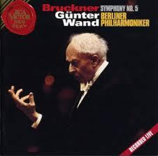 Bruckner, Gunter Wand, Berliner Philharmoniker Symphony No. 5 Vinyl