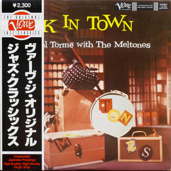 Mel Torme With The Meltones Back In Town
