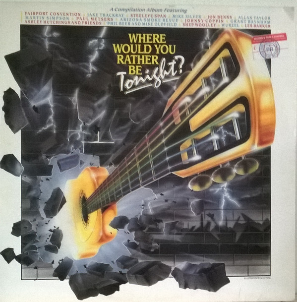 Various Where Would You Rather Be Tonight? Vinyl