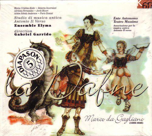Gagliano - Studio Di Musica Antica Antonio Il Verso, Ensemble Elyma direction Gabriel Garrido La Dafne CD