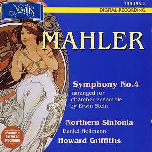 Mahler - Daniel Hellmann, Howard Griffiths, Erwin Stein Symphony No. 4 Vinyl