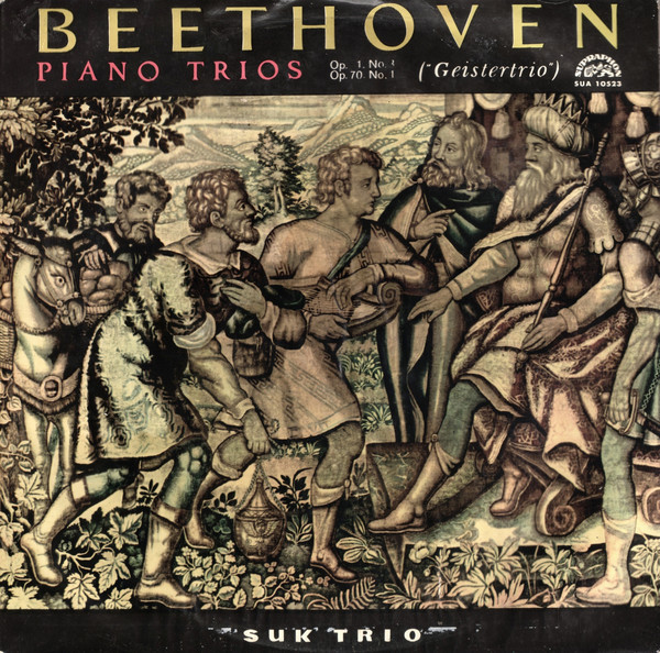 Beethoven - Suk Trio Piano Trios Op. 1, No. 3; Op. 70, No. 1 Vinyl