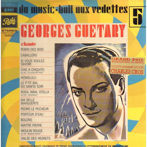 Guetary, Georges Du Music-Hall Aux Vedettes 5