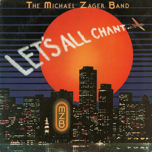 The Michael Zager Band Let's All Chant Vinyl
