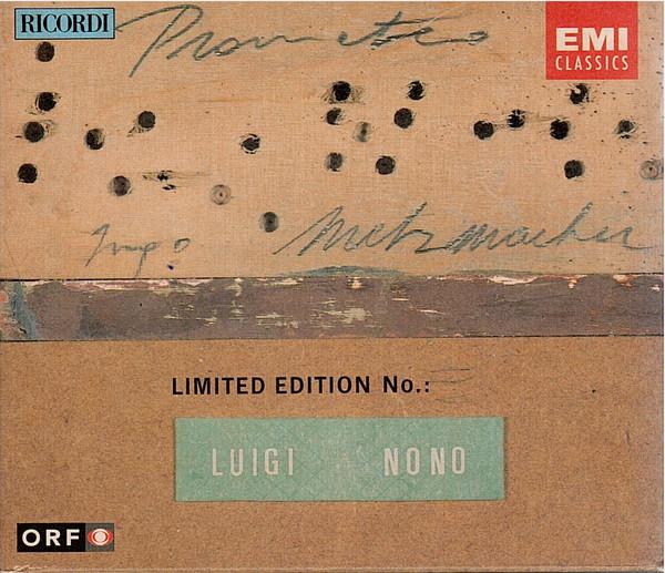 Nono, Luigi Prometeo—Tragedia Dell'ascolto CD