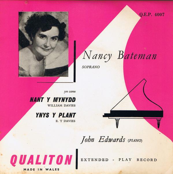 Nancy Bateman, John Edwards Nant y Mynydd / Ynys y Plant Vinyl