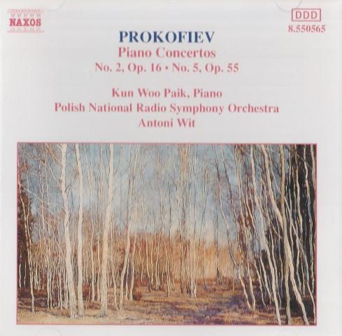 Prokofiev - Kun Woo Paik, Antoni Wit Piano Concertos Nos. 2 and 5 Vinyl