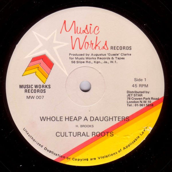 Cultural Roots Whole Heap A Daughters  Vinyl