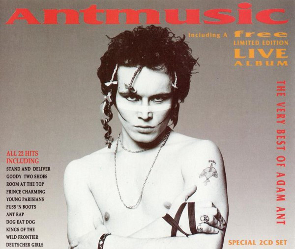 Adam Ant Antmusic - The Very Best Of Adam Ant CD
