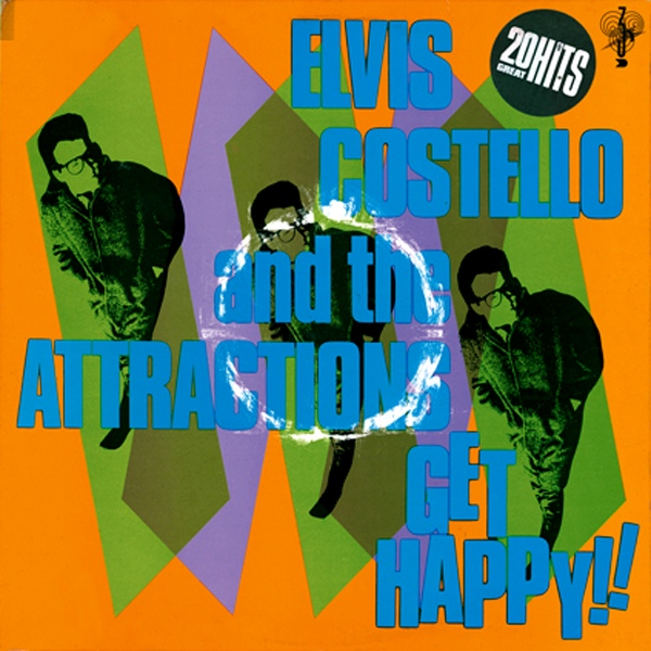Costello, Elvis & The Attractions Get Happy