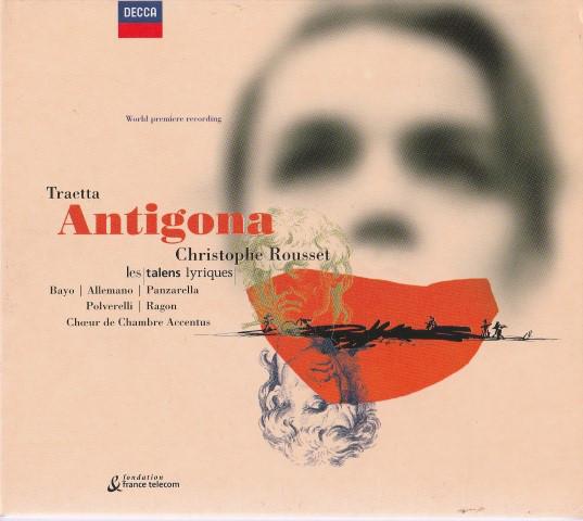 Traetta - Christophe Rousset, Les Talens Lyriques Antigona
