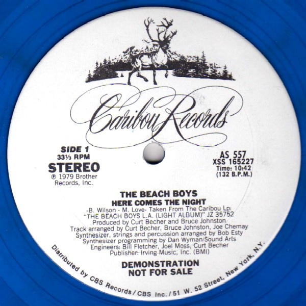 The Beach Boys Here Comes The Night