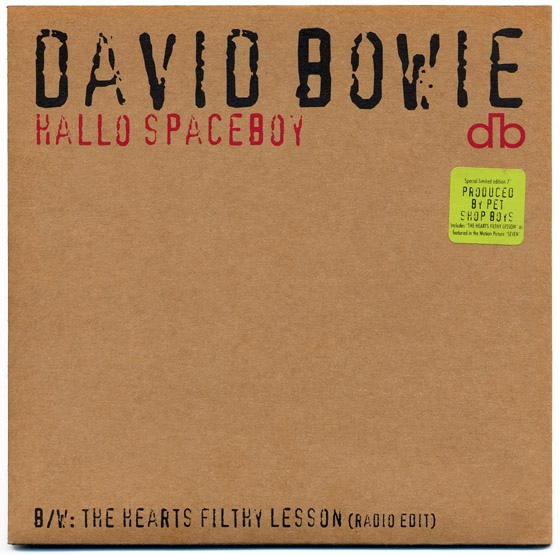 Bowie, David Hallo Spaceboy