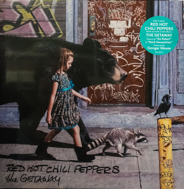 Red Hot Chili Peppers The Getaway Vinyl