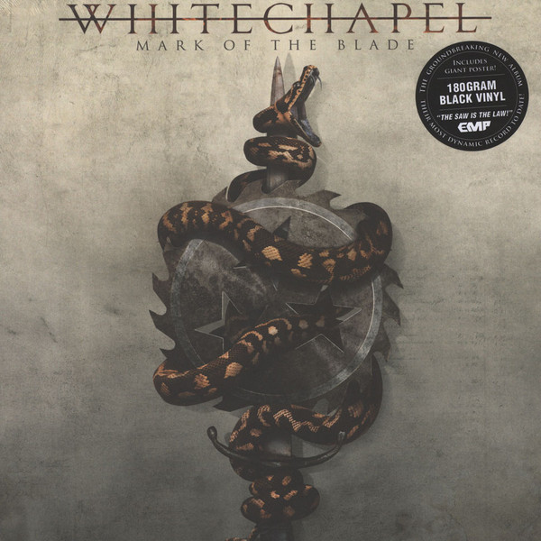 Whitechapel Mark Of The Blade Vinyl