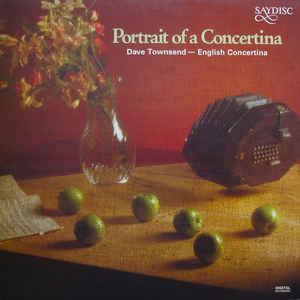 Dave Townsend Portrait Of A Concertina Vinyl