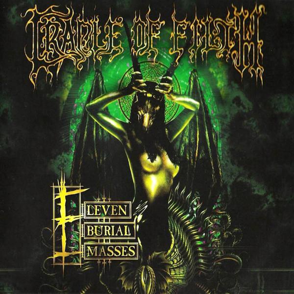 Cradle Of Filth Eleven Burial Masses Vinyl