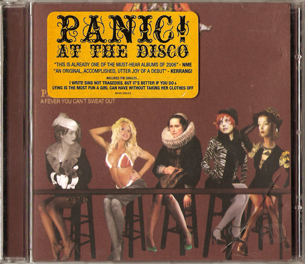 Panic! At The Disco A Fever You Cant Sweat Out