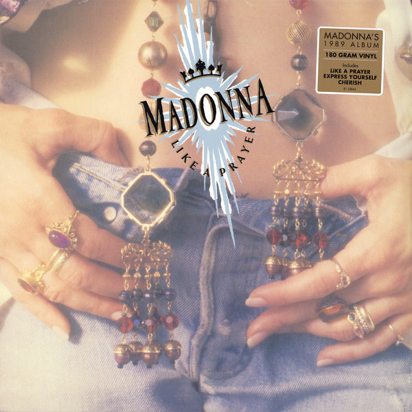 Madonna Like A Prayer Vinyl