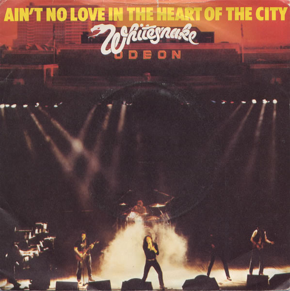 Whitesnake Aint No Love In The Heart Of The City Vinyl