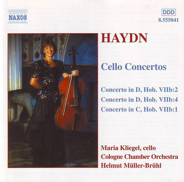 Haydn - Maria Kliegel, Cologne Chamber Orchestra, Helmut Müller-Brühl Cello Concertos