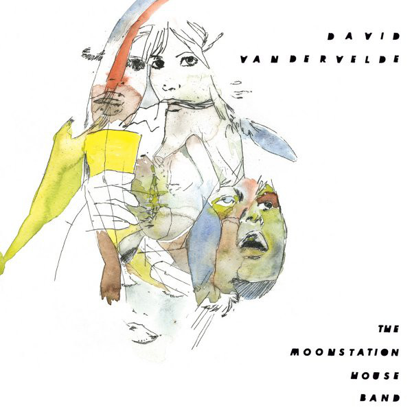 Vandervelde, David The Moonstation House Band CD