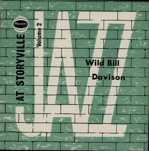 Wild Bill Davison Jazz At Storyville Volume 2 Vinyl