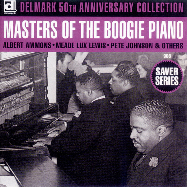 Various Delmark 50th Anniversary Collection Masters Of The Boogie Piano
