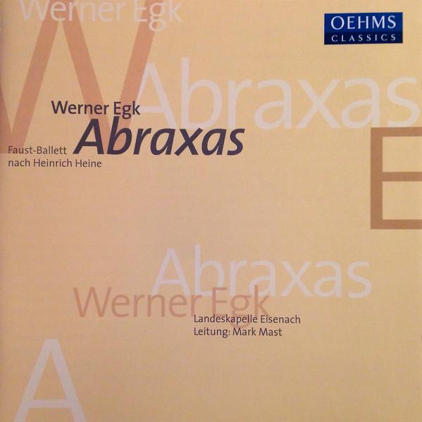 Egk - Landeskapelle Eisenach, Mark Mast Abraxas Vinyl