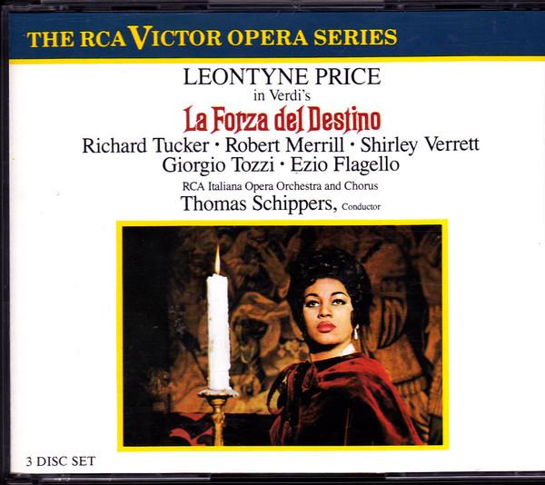 Verdi - Thomas Schippers, Leontyne Price, Tucker, Merrill, Verrett La Forza del Destino
