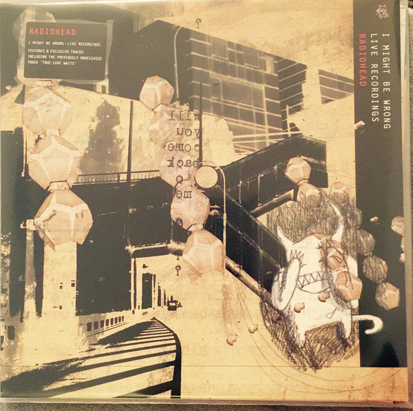 Radiohead I Might Be Wrong - Live Recordings Vinyl