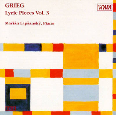 Grieg - Marian Lapsansky Lyric Pieces Vol. 3 Vinyl