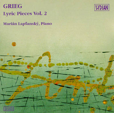 Grieg - Marian Lapsansky Lyric Pieces Vol. 2 Vinyl
