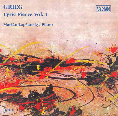 Grieg - Marian Lapsansky Lyric Pieces Vol. 1 Vinyl