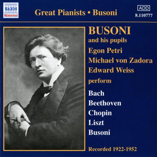 Busoni Complete Recordings